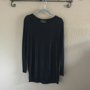Brandy Melville Black Long Sleeve Dress Shirt